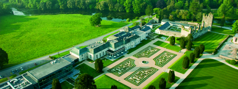 Aerial View of Trident Holiday Homes - Castlemartyr Holiday Lodges in Castlemartyr Resort - Co. Cork