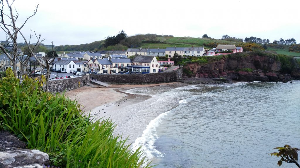 The Strand Inn overlooking Lawlor's sandy beach Dunmore East in Waterford