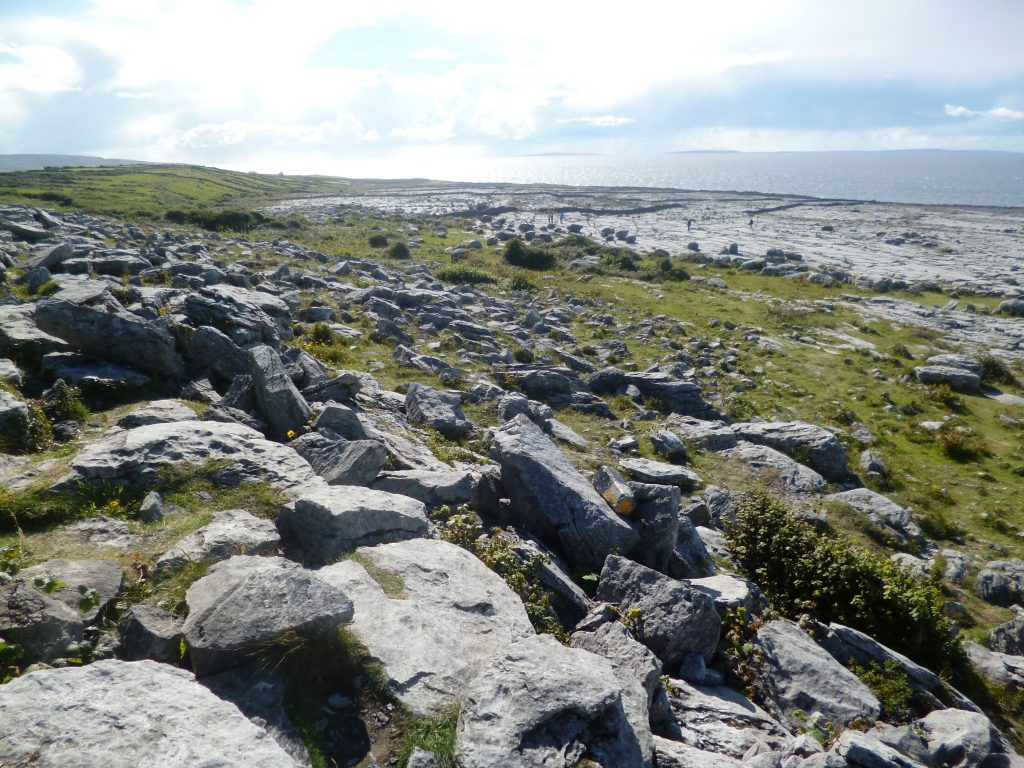 Flaggy Shore located at Finvarra near New Quay County Clare