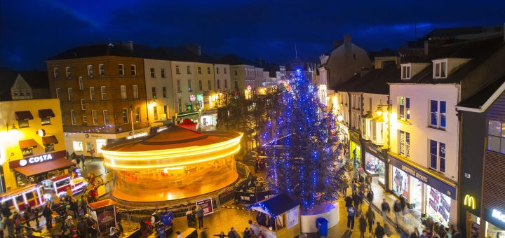 Winterval Waterford. Pictured at John Roberts Square, Waterford City during Winterval. Picture: Patrick Browne