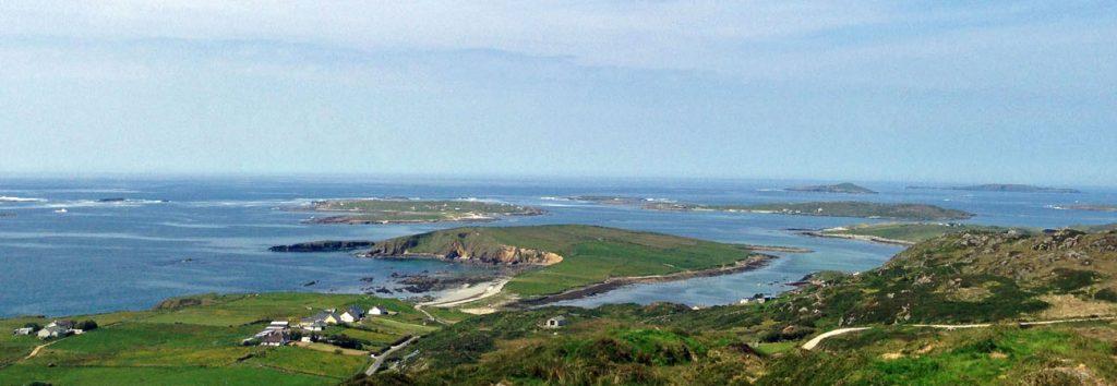 Coastline of Connemara County Galway