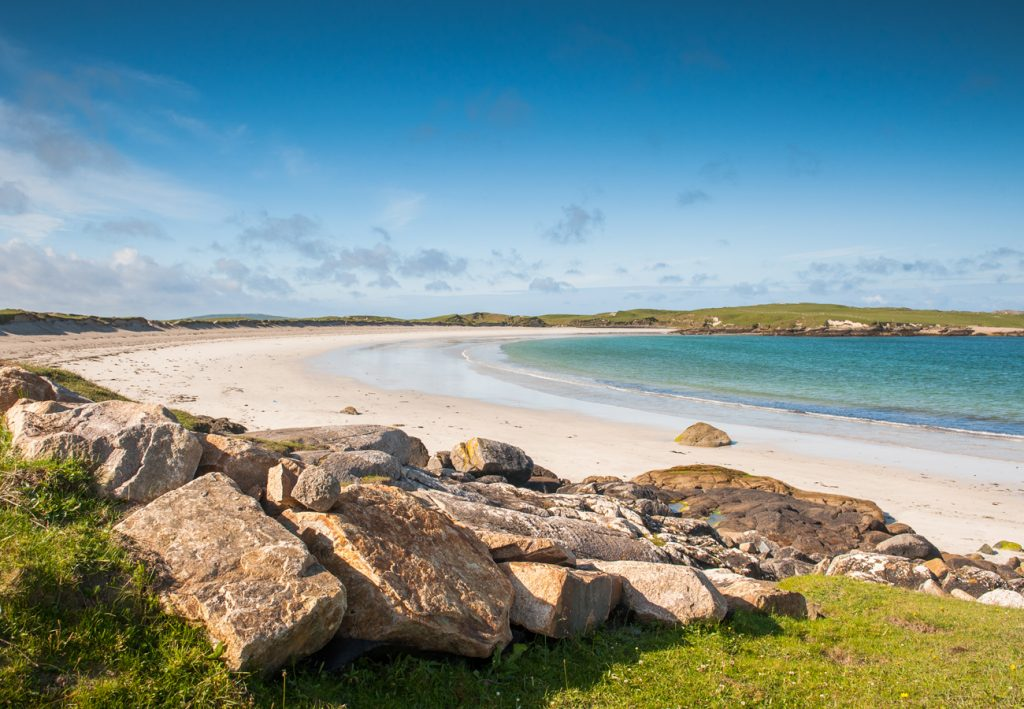 Dog's Bay Beach near our self catering cottages in Connemara County Galway