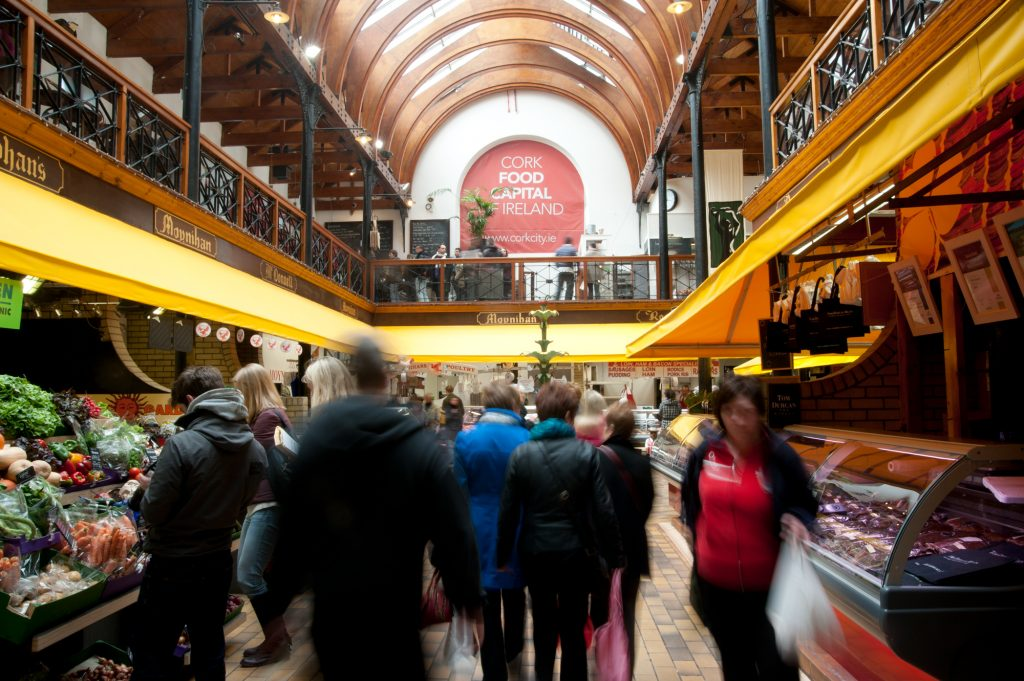 English Market, Cork City © Tourism Ireland