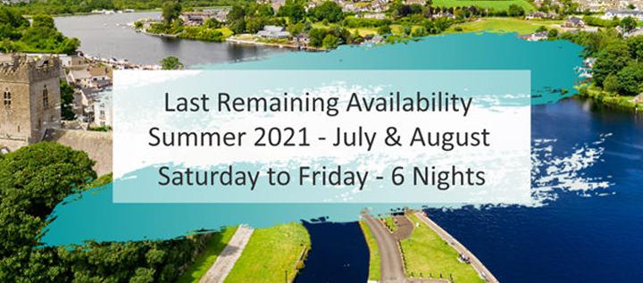 Last Remaining Summer Availability | Holiday Accommodation Ireland
