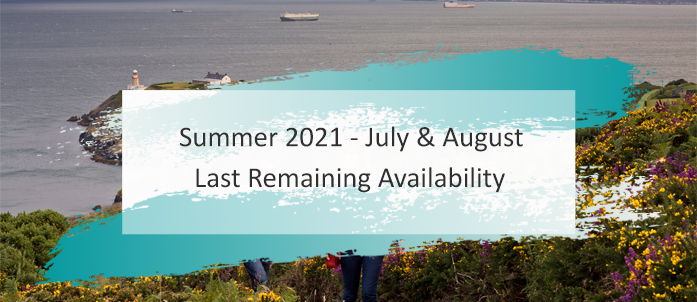 Summer 2021 Last Remaining Availability