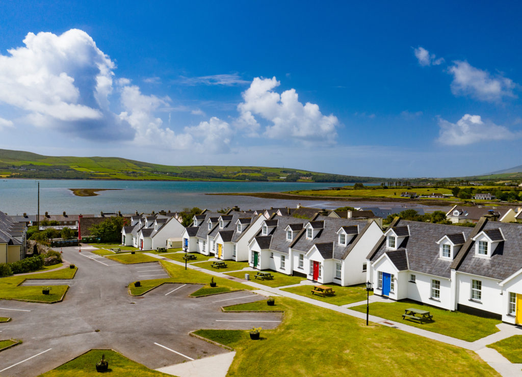 Dingle Harbour Cottages beside Dingle Harbour in County Kerry