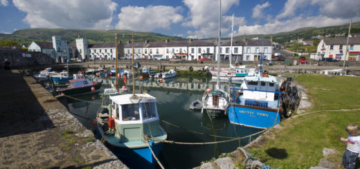 Carnlough Harbour, County Antrim © Tourism Ireland