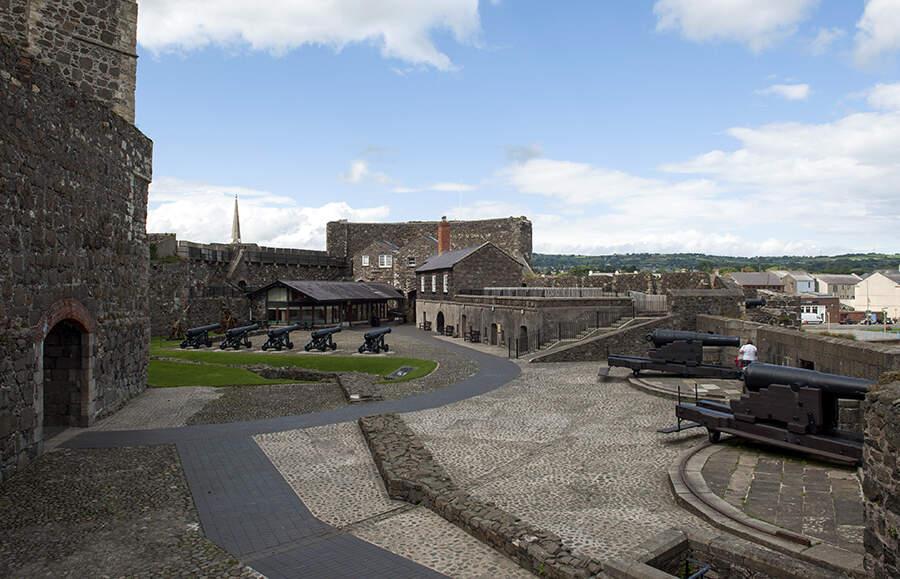 Carrickfergus Castle, County Antrim © Tourism Ireland