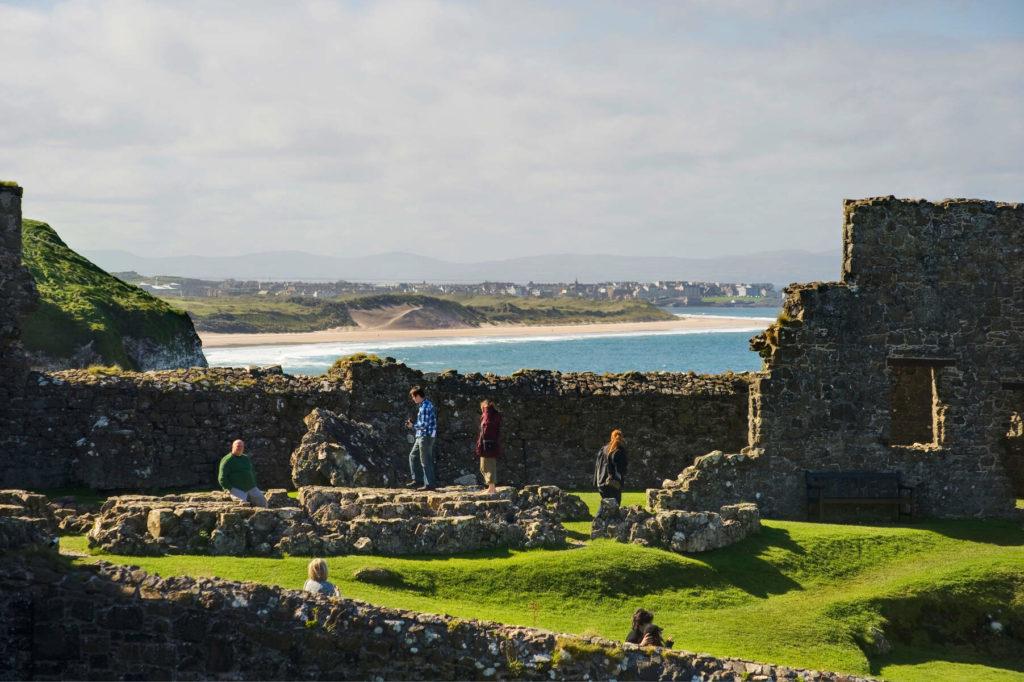 Dunluce Castle © Tourism Ireland