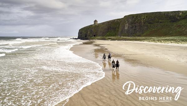 Sheans Horse Farm - Embrace a Giant Spirit © Tourism Northern Ireland